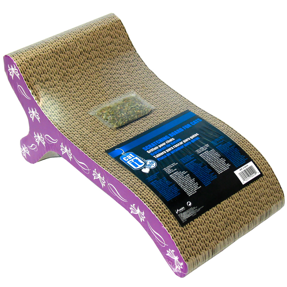 CATIT-STYLE-SCRATCHER-WITH-CATNIP-CHAISE