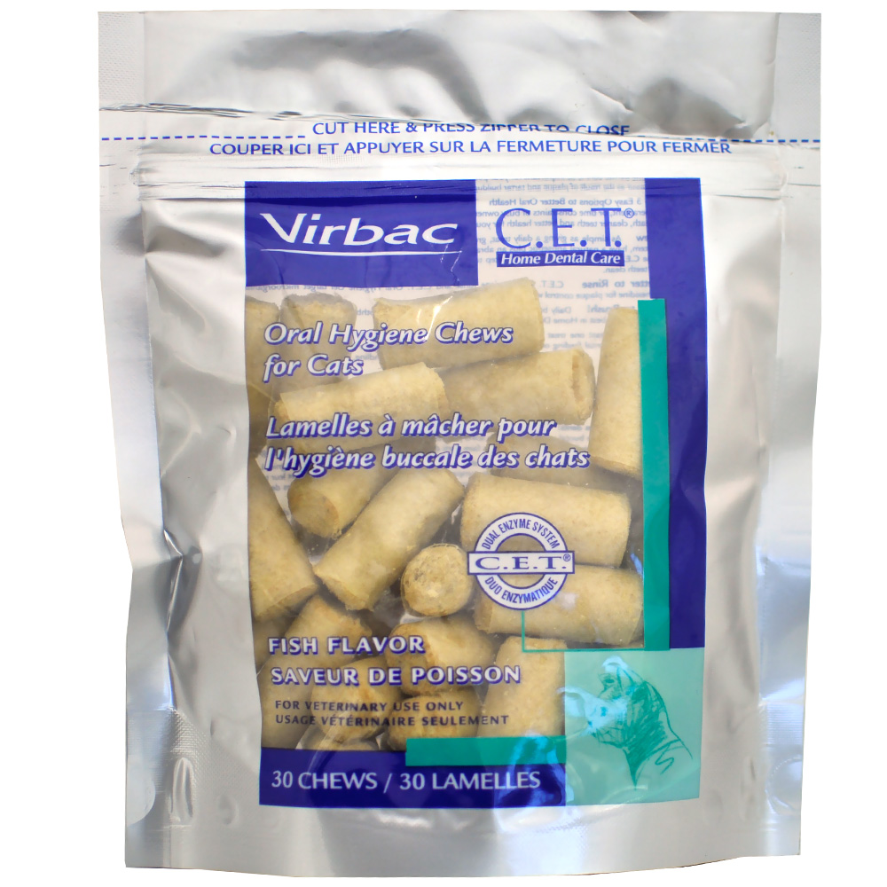 Image of CET Chews for Cats - Fish Flavor (30 Chews)