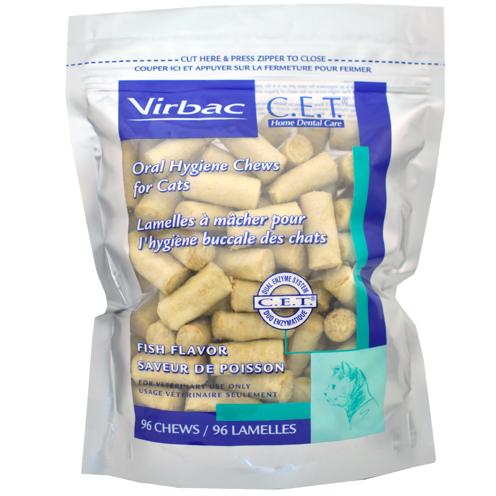 Image of CET Chews for Cats - Fish Flavor (96 Chews)