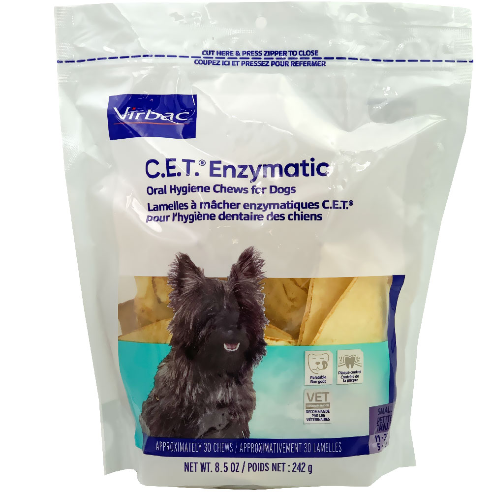 CET Enzymatic Chews for Small Dogs (30 Chews) im test