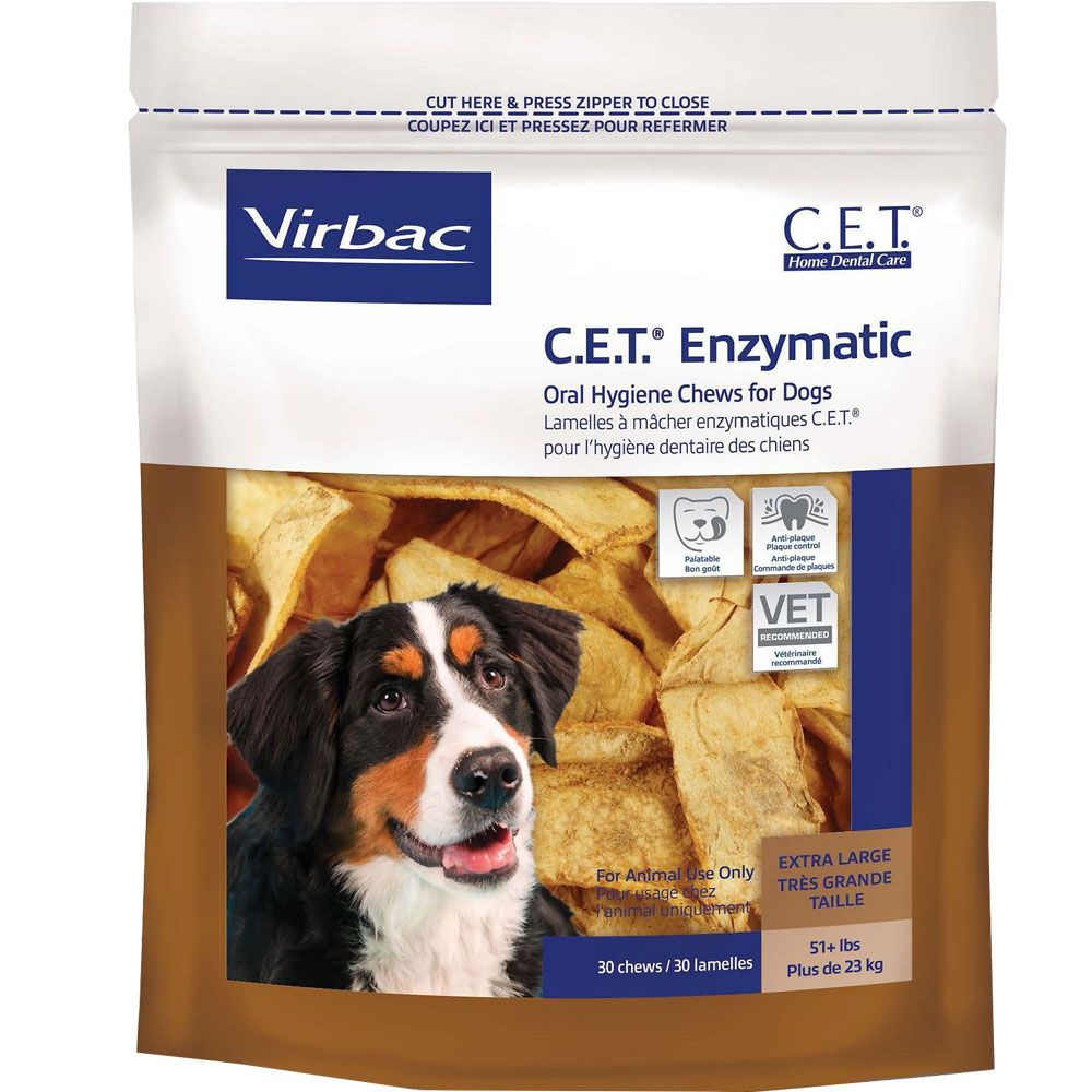 CET Enzymatic Chews for Large Dogs (30 Chews) im test