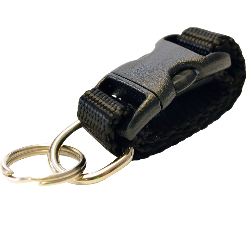 Cetacea Tag-It Removable Tag Holder - Black - For Dogs - from EntirelyPets