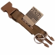 Cetacea Tag-It Removable Tag Holder - Coyote Tan