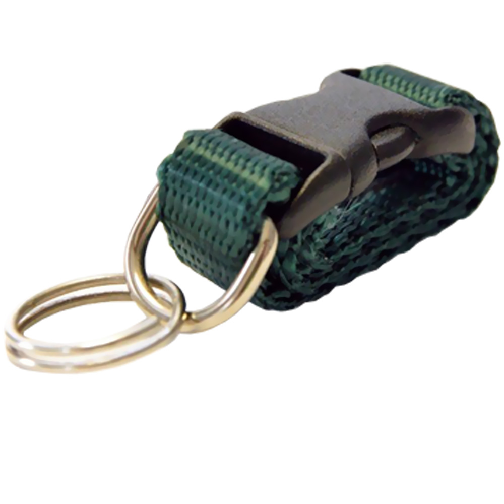 Cetacea Tag-It Removable Tag Holder - Foliage Green - For Dogs - from EntirelyPets