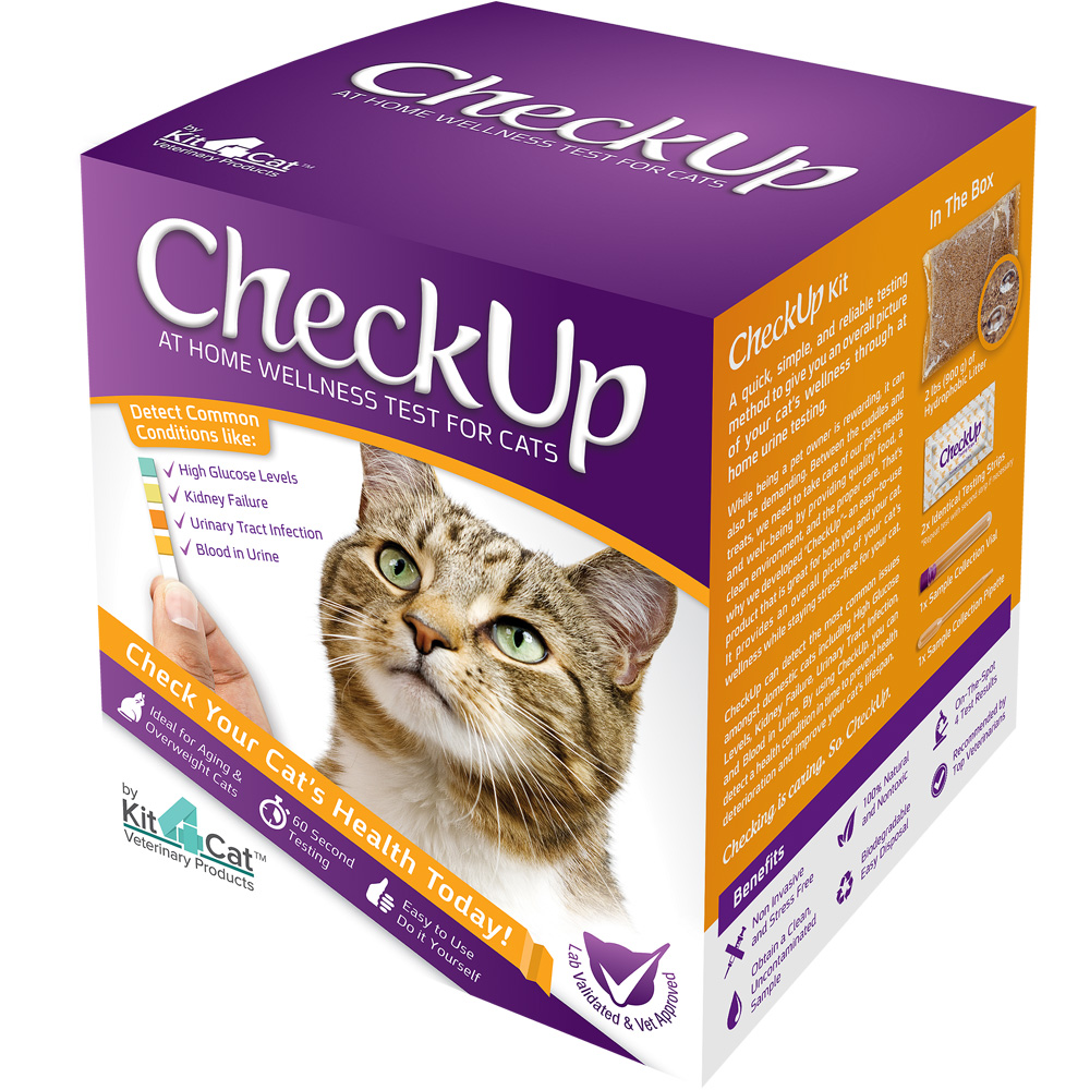 Image of CheckUp Kit - At Home Wellness Test for Cats