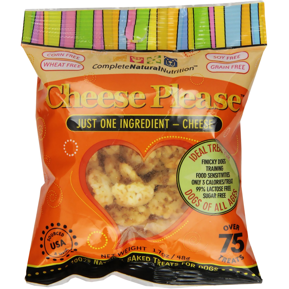 Image of Cheese Please Natural Cheese Treats for Dogs (1.7 oz)