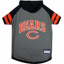 Chicago Bears Hoody Dog Tee Shirt - Large