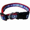 Chicago Cubs Collar - Ribbon (Large)