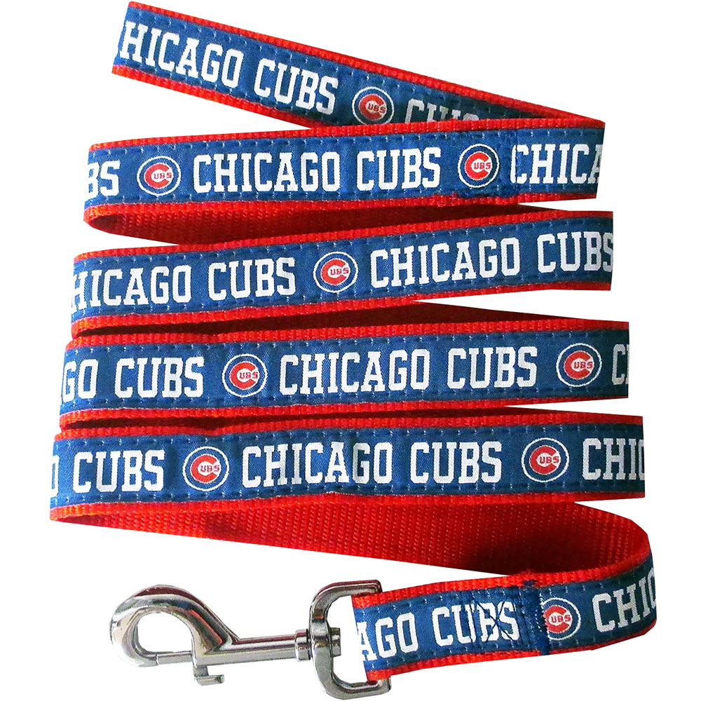 Chicago Cubs Dog Leash - Ribbon from EntirelyPets