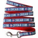 Chicago Cubs Dog Leash - Ribbon