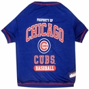 Chicago Cubs Dog Tee Shirt - Small