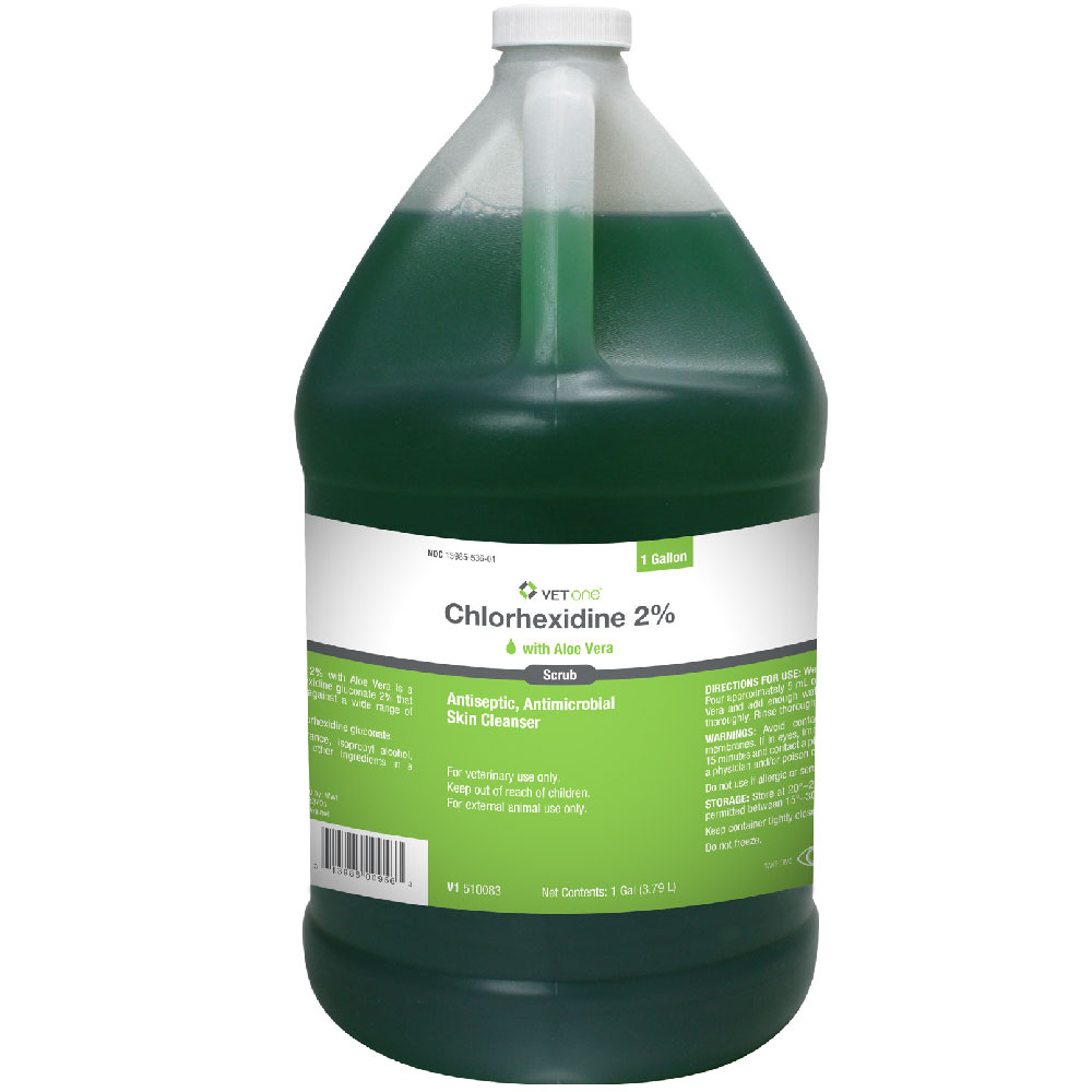 Chlorhexidine 2% Scrub with Aloe Vera (1 Gallon) im test