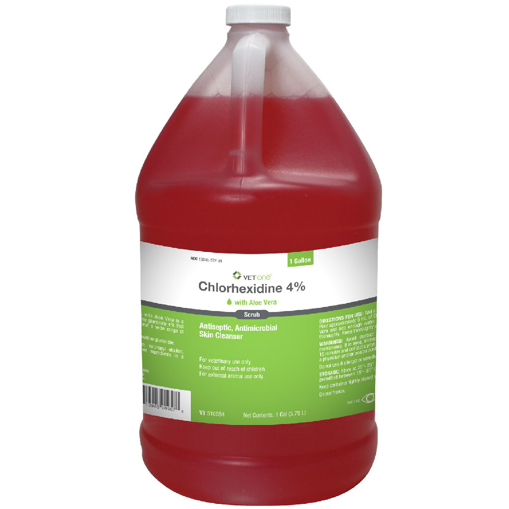 Chlorhexidine 4% Scrub with Aloe Vera (1 Gallon) im test