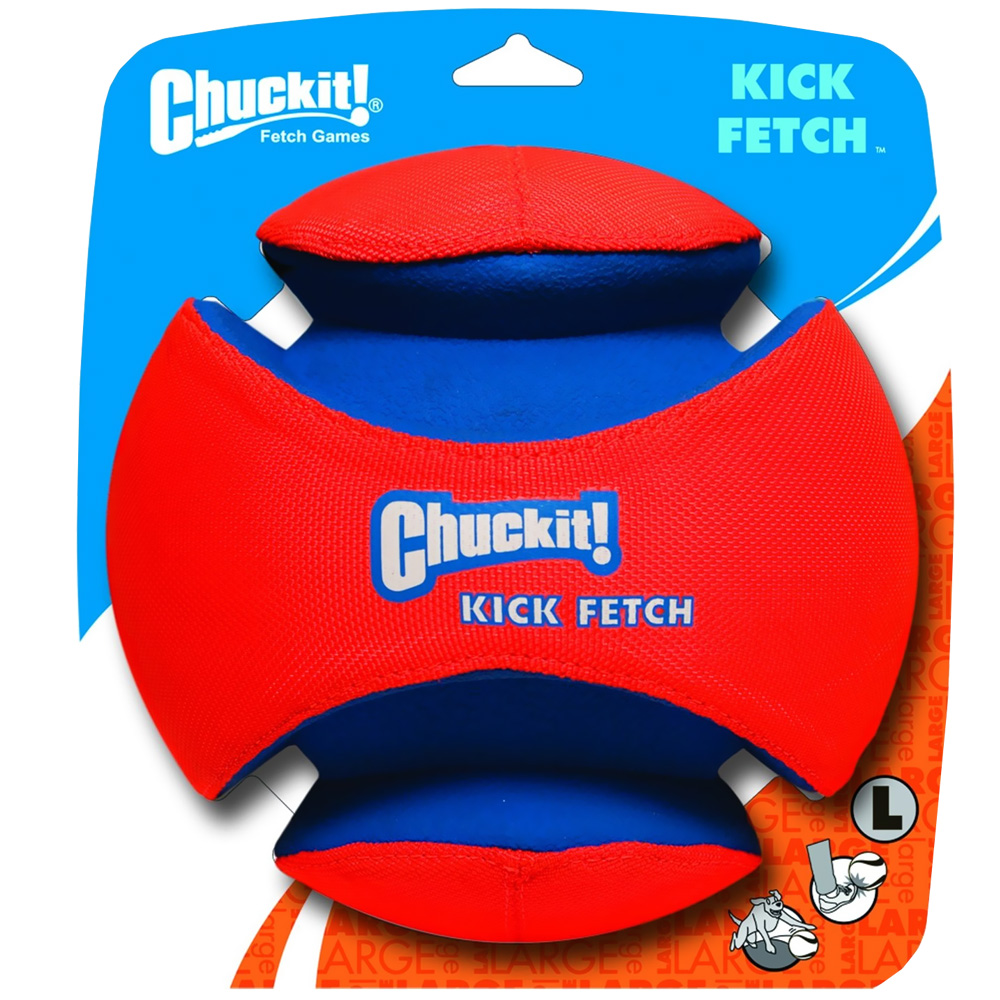 Chuckit! Kick Fetch Ball - Small im test