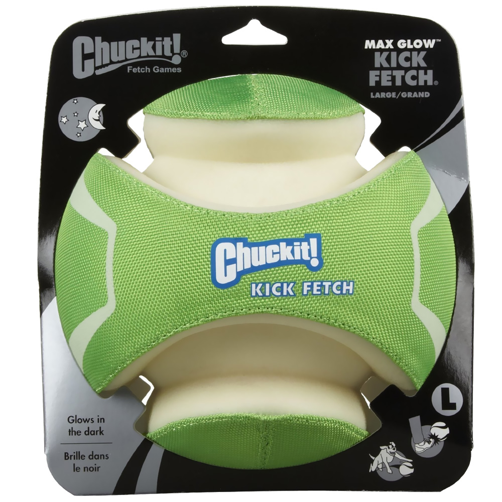 Chuckit! Max Glow Kick Fetch - Large im test