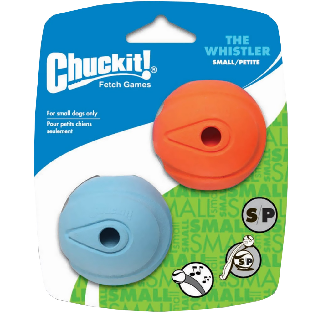 Chuckit! Whistler Ball - Small (2 Pack) im test