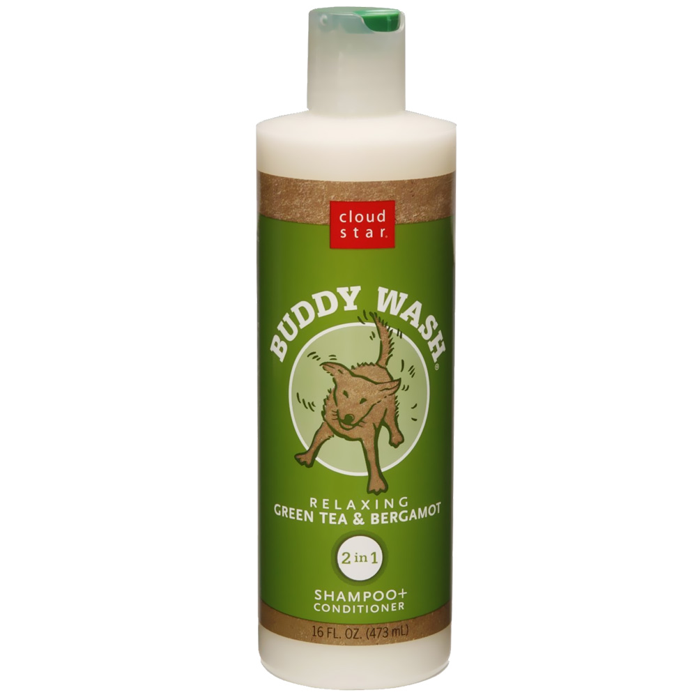 Cloud Star Buddy Wash Dog Shampoo & Conditioner - Green Tea (16 oz) im test