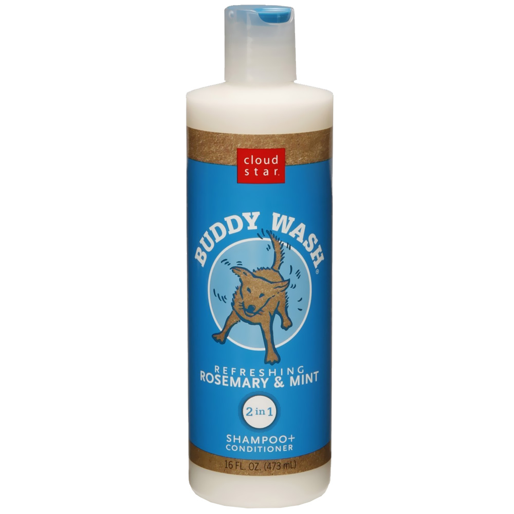 Cloud Star Buddy Wash Dog Shampoo & Conditioner - Rosemary Mint (16 oz) im test