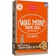 Cloud Star Wag More Bark Less Itty Bitty - Peanut Butter (8 oz)