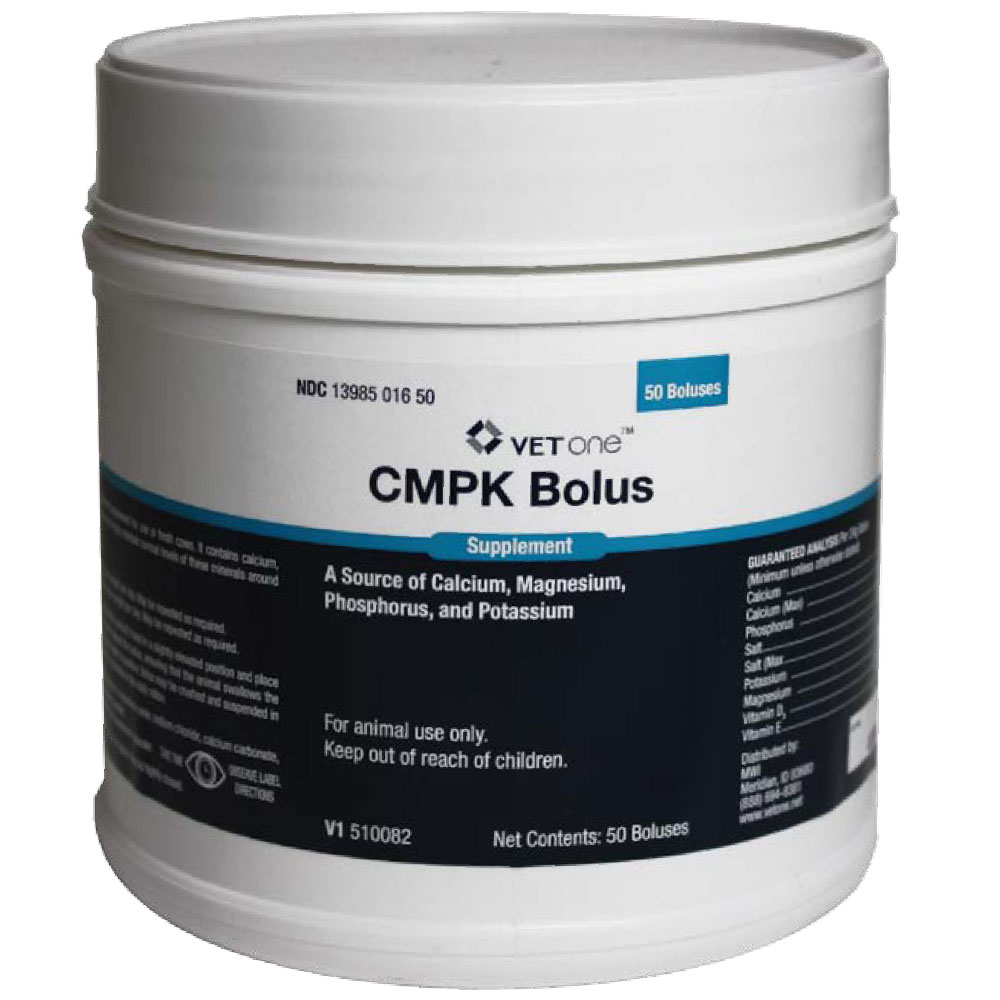 CMPK Bolus Supplement, 50 Count im test