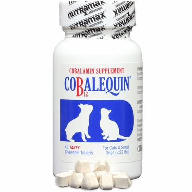 COBALEQUIN Chewable Tablets for Cats & Small Dogs (45 count) im test