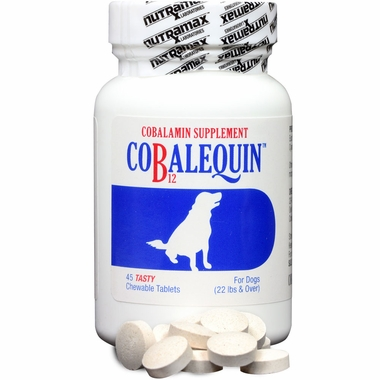 COBALEQUIN Chewable Tablets for Medium & Large Dogs (45 count) im test