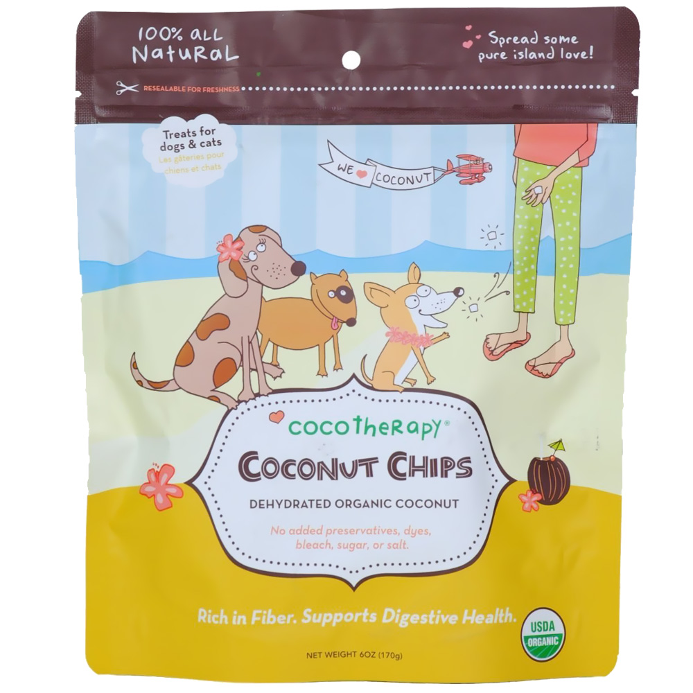 Image of CocoTherapy Coconut Chips (6 oz)