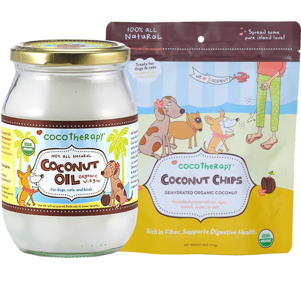 CocoTherapy Coconut Oil (16 oz) + Coconut Chips Bundle im test