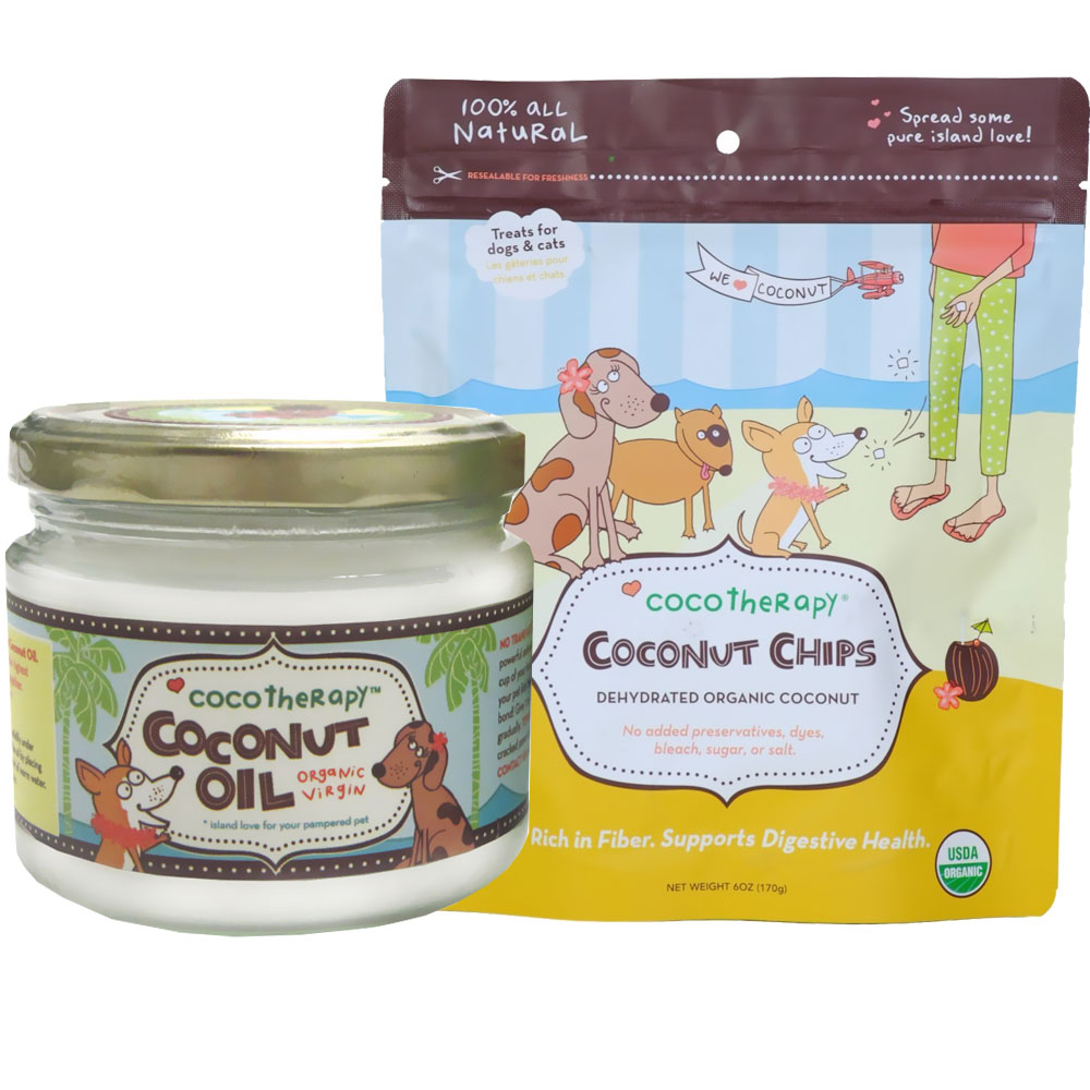 CocoTherapy Coconut Oil (8 oz) + Coconut Chips Bundle im test