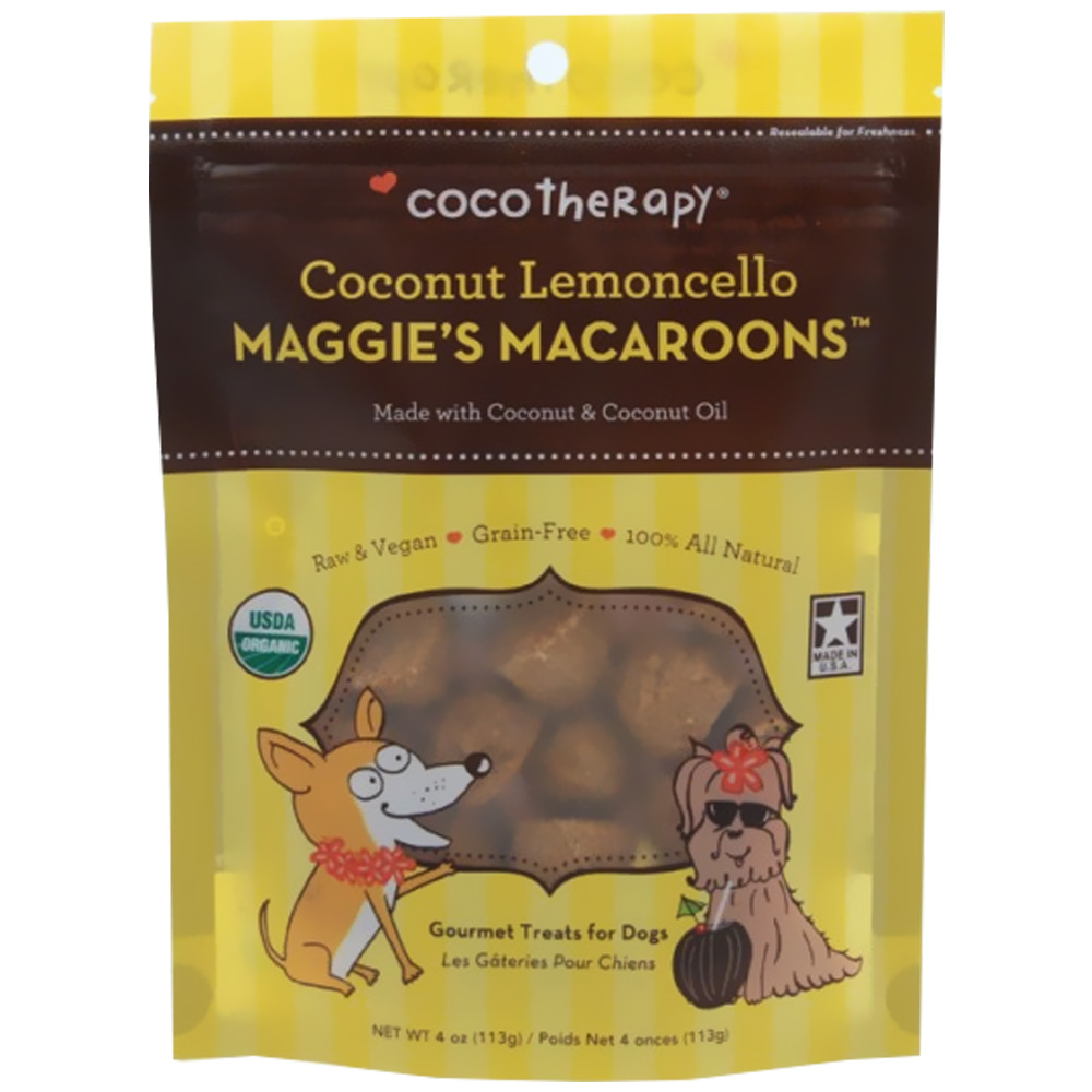 CocoTherapy Maggie's Macaroons - Coconut Lemoncello (4 oz) im test