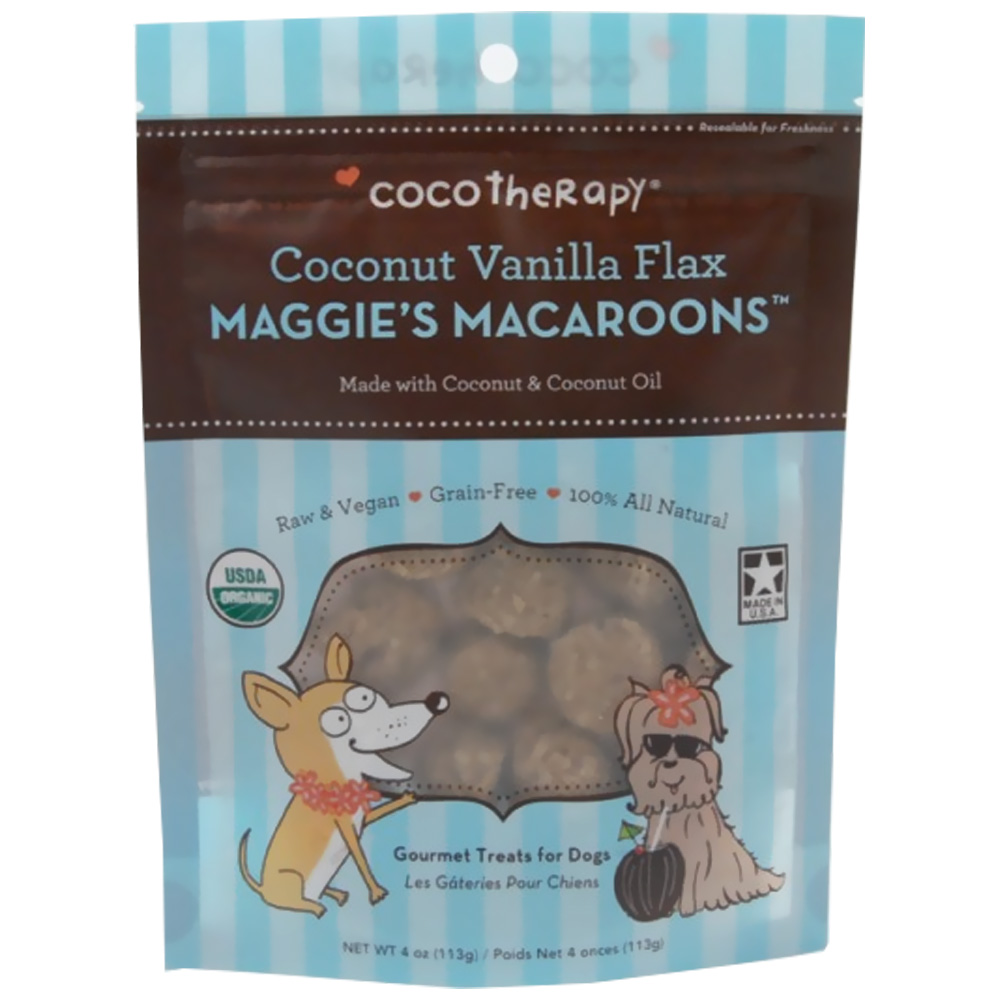 CocoTherapy Maggie's Macaroons - Coconut Vanilla Flax (4 oz) im test