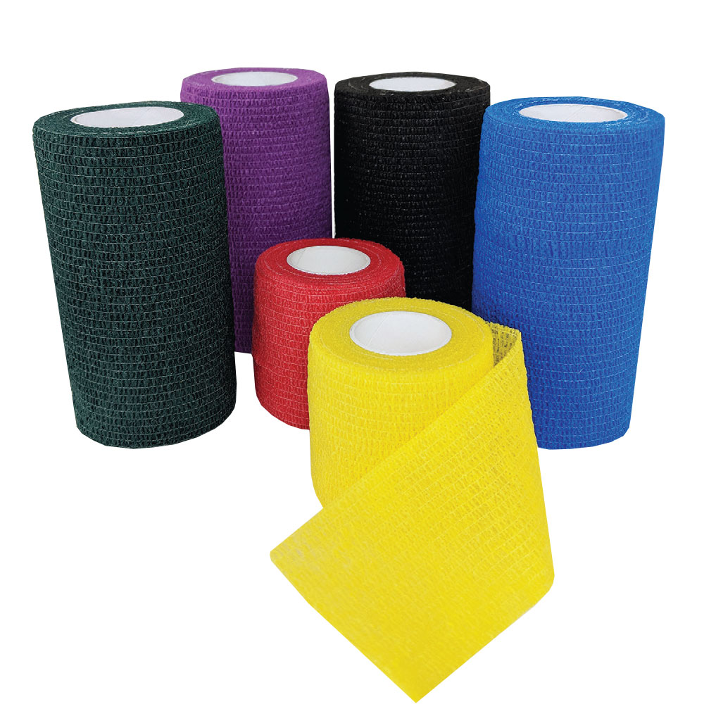 """""""Cohesiant Wrap Primary Color - Assortment (Red/Blue/Yellow) (2""""""""x5yd)"""" im test"""
