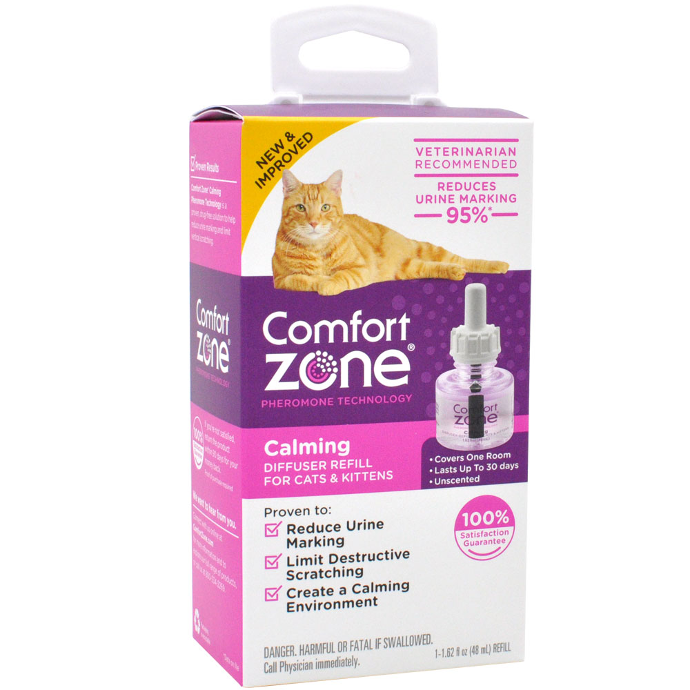 Image of Comfort Zone Calming Diffuser Refill for Cats & Kittens (1-Pack)