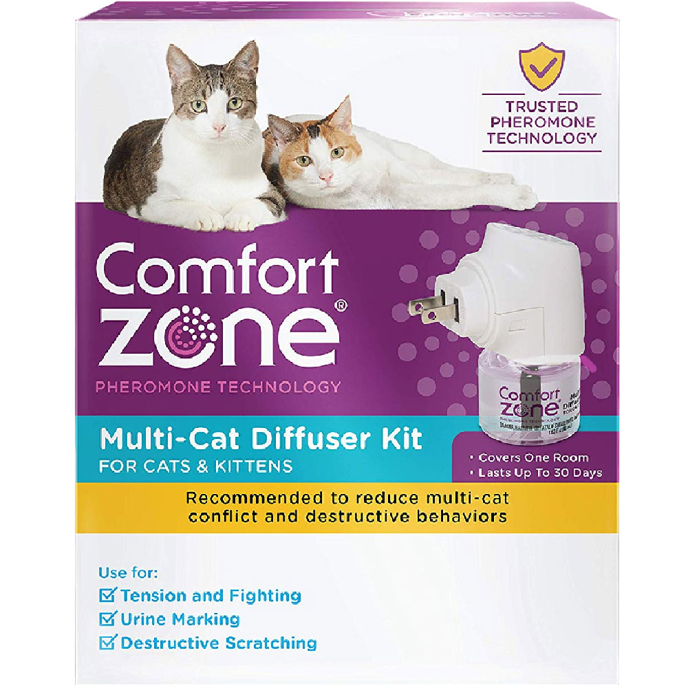 Comfort Zone Multi-Cat Diffuser for Cats & Kittens (1-Pack) im test