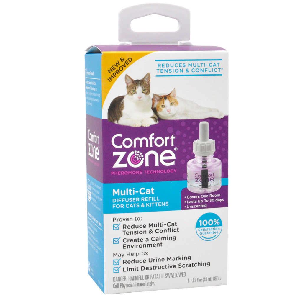 Comfort Zone Multi-Cat Diffuser Refill for Cats & Kittens (1-Pack) im test
