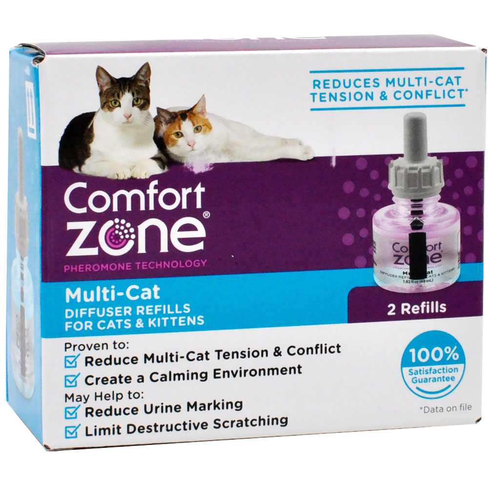 Comfort Zone Multi-Cat Diffuser Refills for Cats & Kittens (2-Pack) im test