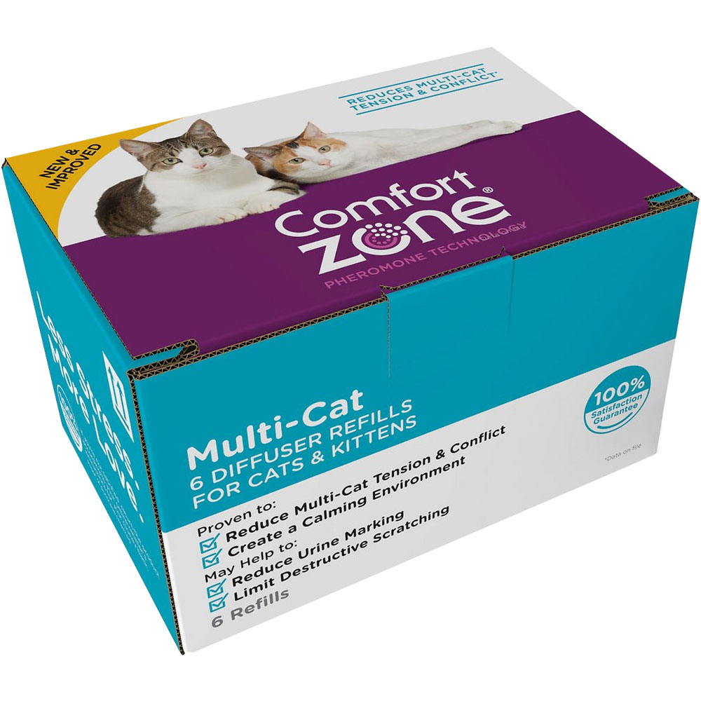Comfort Zone Multi-Cat Diffuser Refills for Cats & Kittens (6-Pack) im test