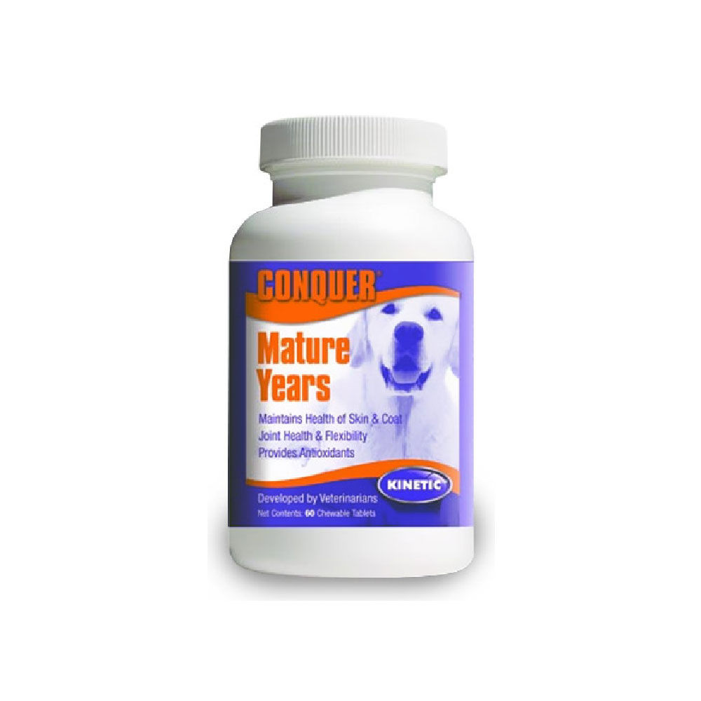 Conquer K9 Mature Years Chewables (60 ct) im test