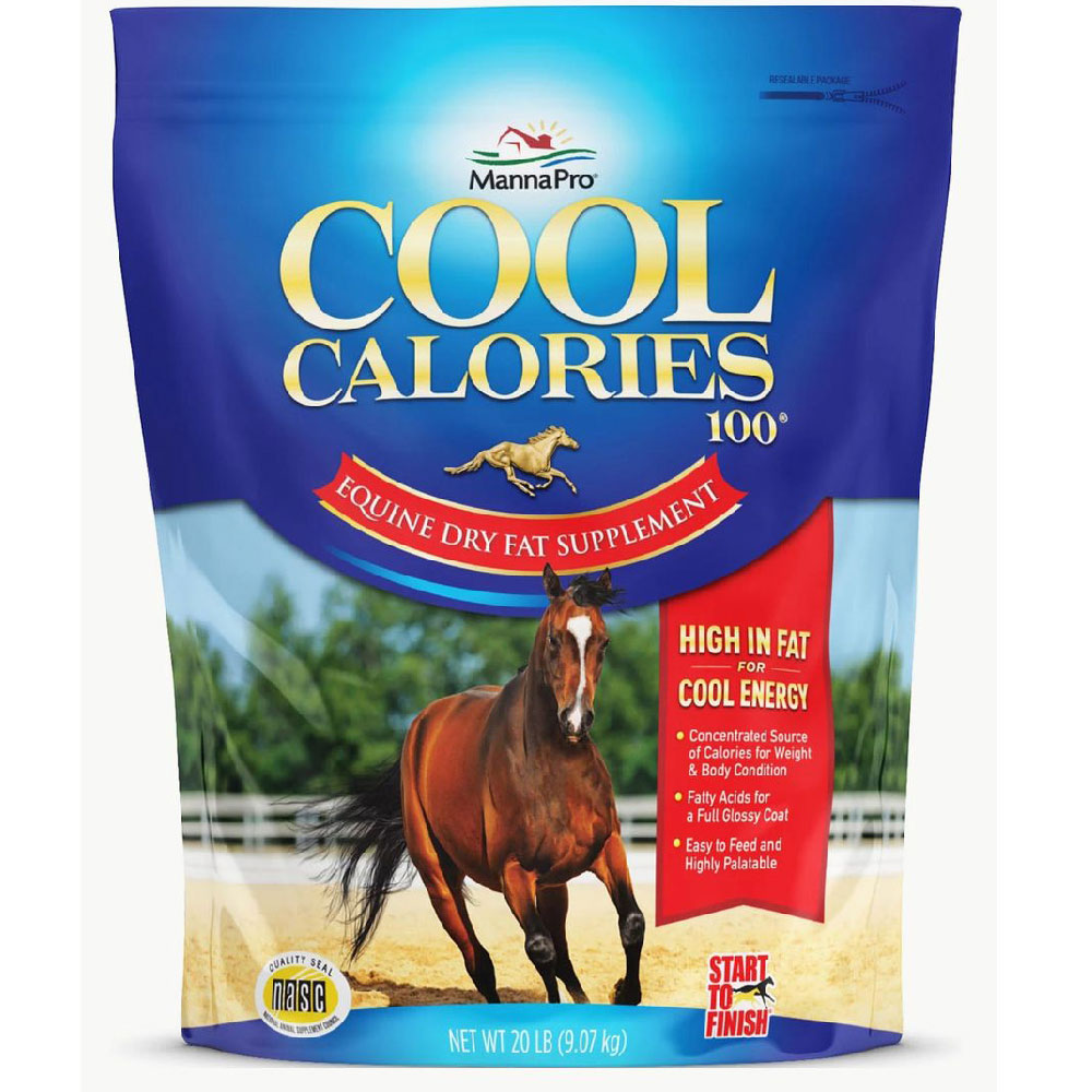 Image of Cool Calories 100 - Equine Dry Fat Supplement (20 lb)
