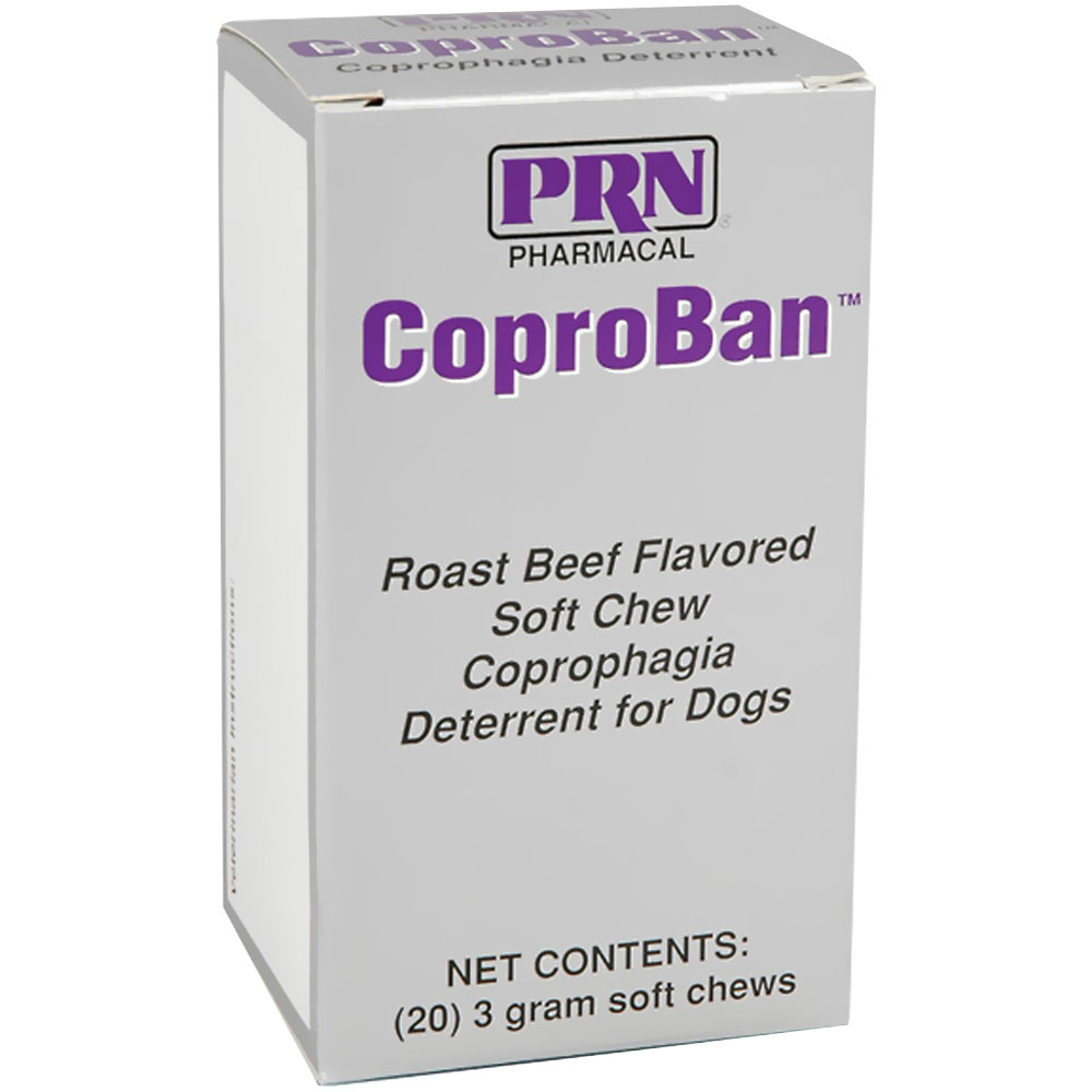 Image of CoproBan Anti-Coprophagia Soft Chews - Roast Beef Flavor (20-pack)