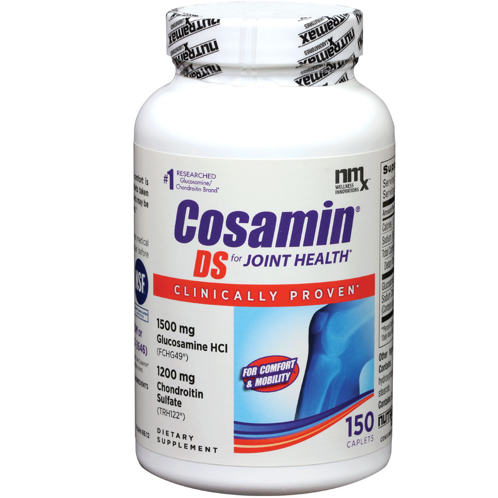 Image of Nutramax Cosamin DS for HUMANS - 150 Tabs - from EntirelyPets