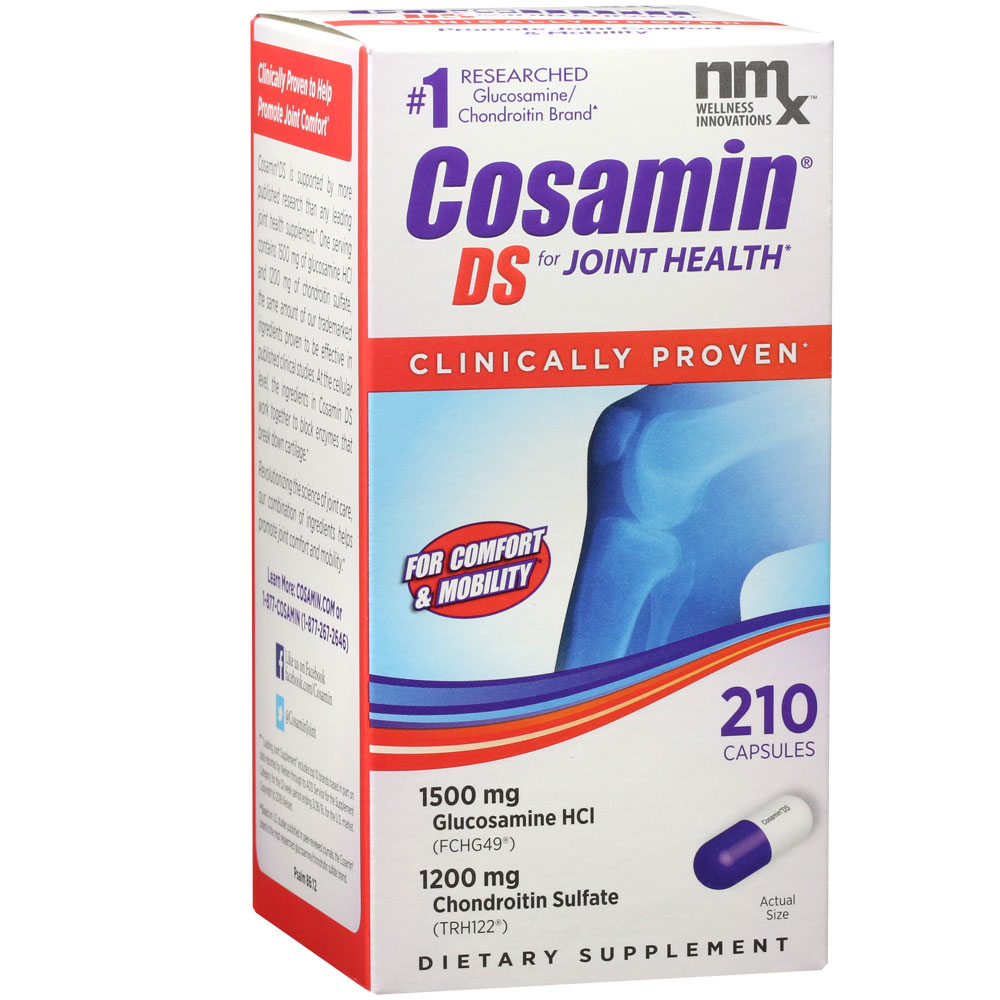 Cosamin DS for HUMANS (210 Capsules) im test