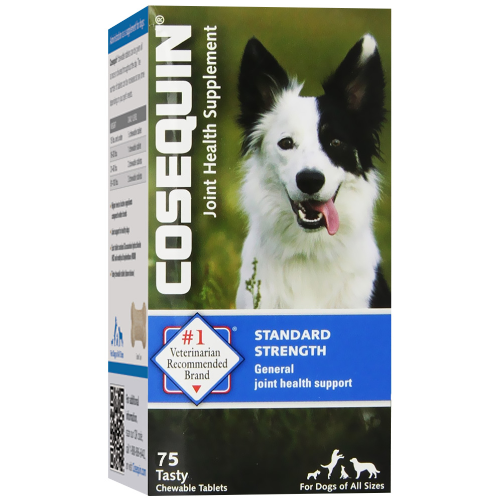 Cosequin Standard Strength Chewable Tablets, 75 count im test