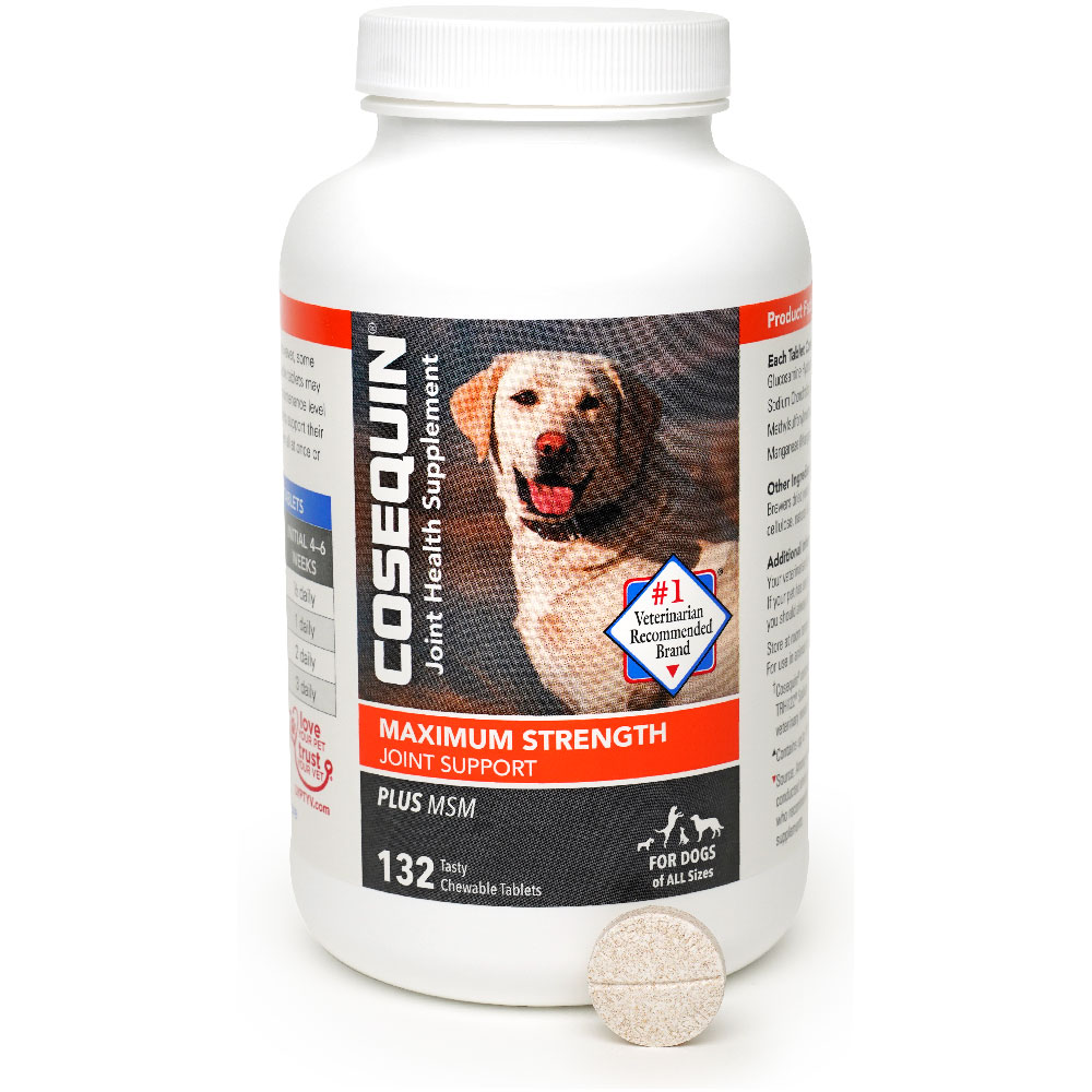 Image of Cosequin Maximum Strength (132 chewable tablets)
