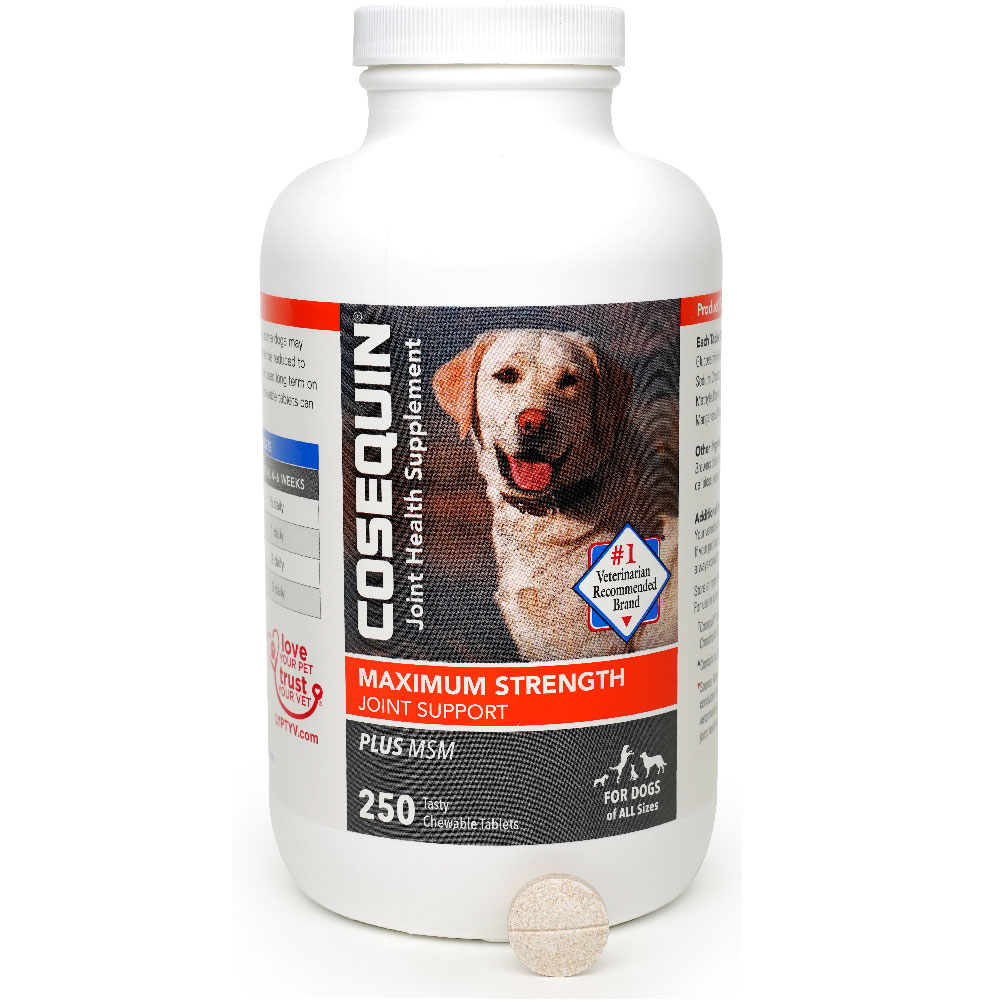 Image of Cosequin Maximum Strength (250 chewable tablets)