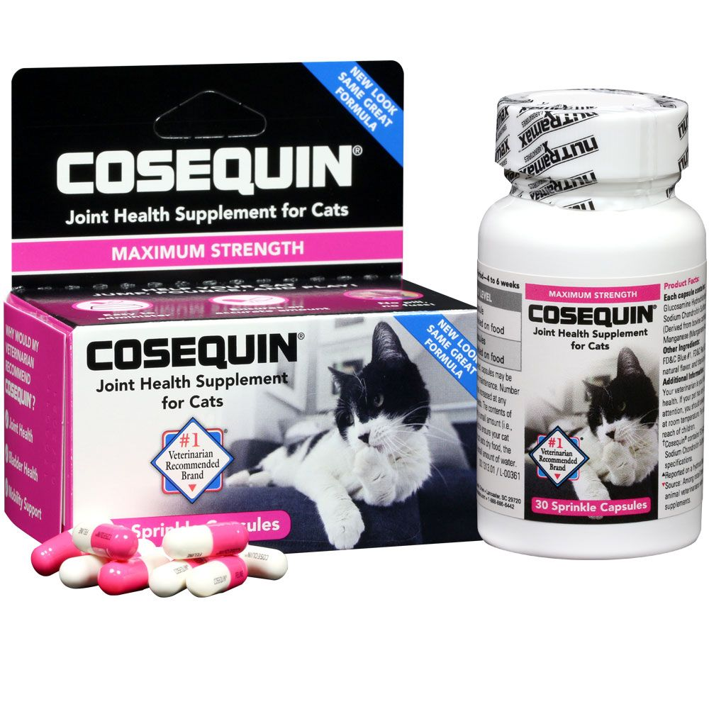 Cosequin for Cats Sprinkle Capsules (30 Counts) im test