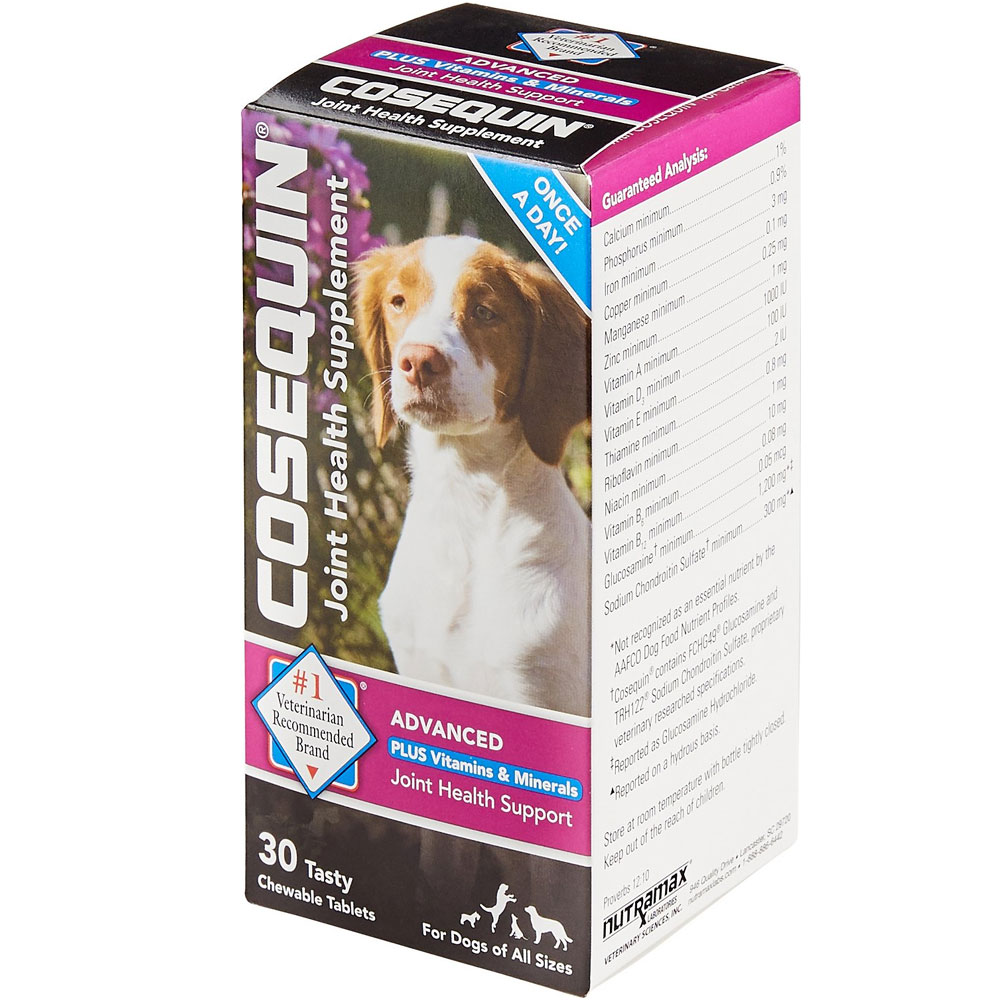 Cosequin Plus Advanced Strength Vitamins & Minerals (30 Chewable Tablets) im test