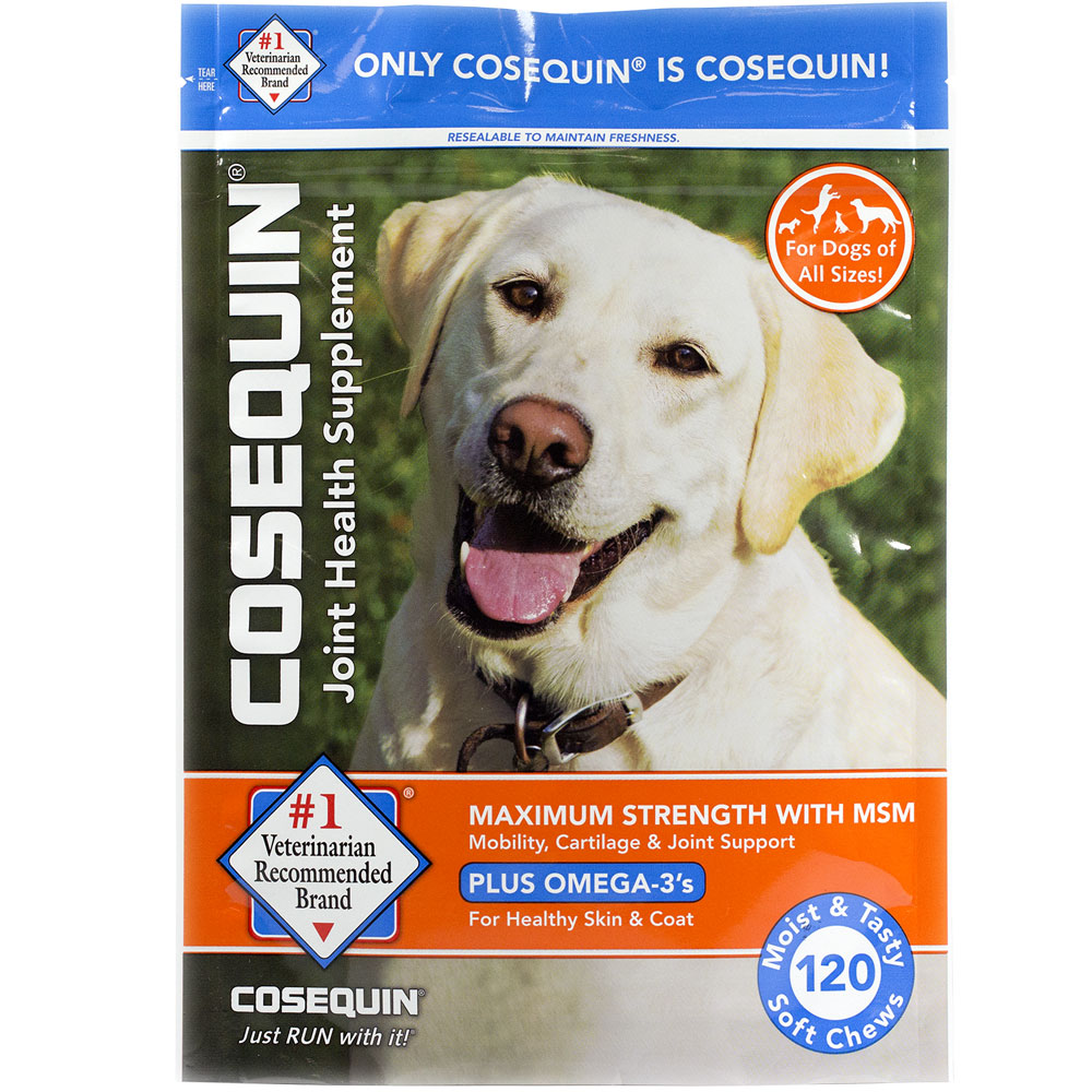 Cosequin Soft Chews Maximum Strength with MSM Plus Omega-3 (120 Soft Chews)