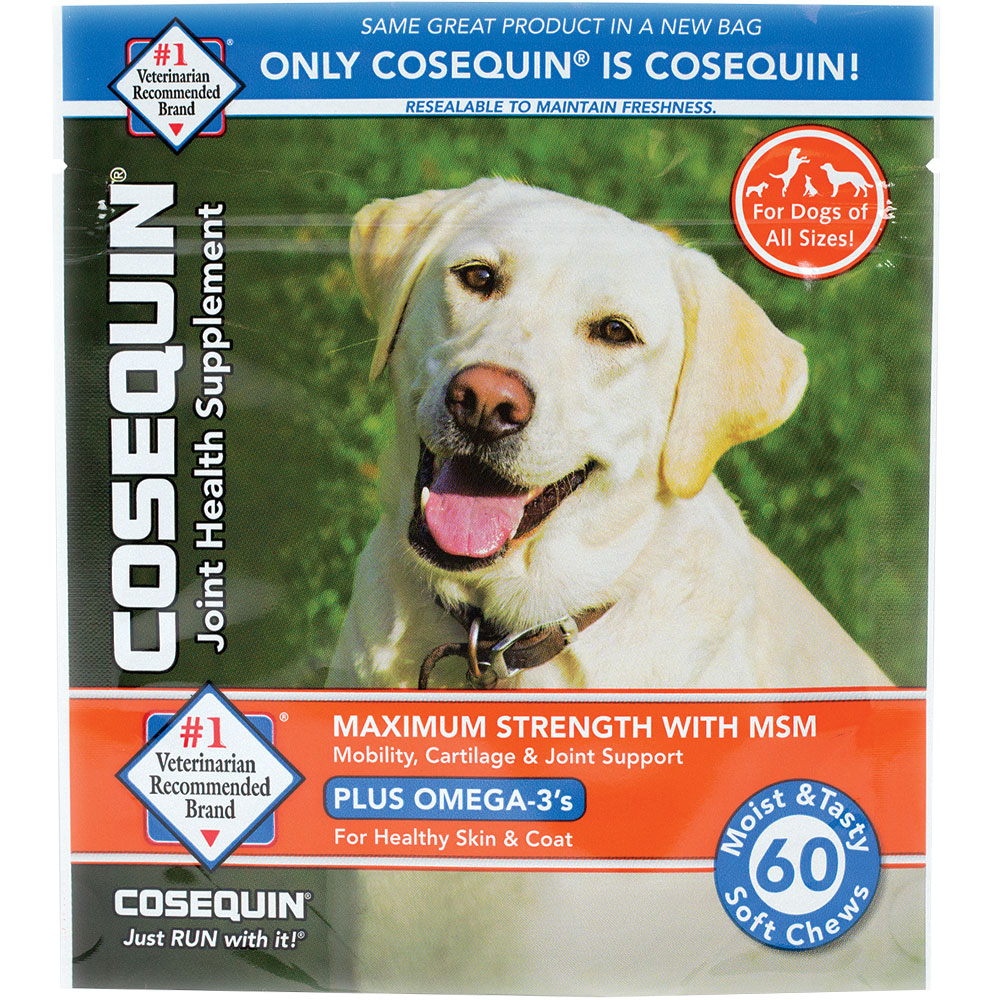 Cosequin Soft Chews Maximum Strength with MSM Plus Omega-3 (60 Soft Chews) im test