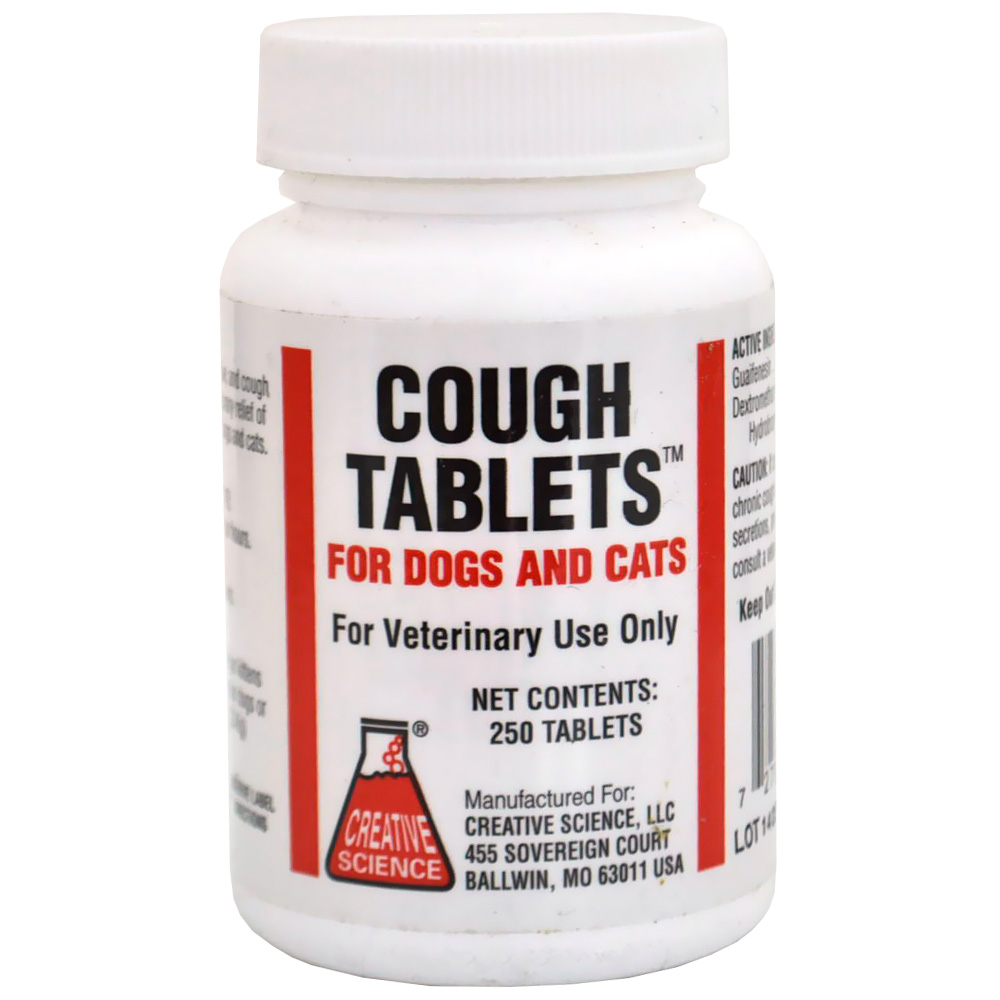 Buy Cough Tablets For Dogs And Cats (Available Now